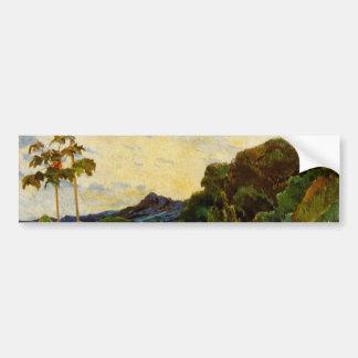 Paul Gauguin's Martinique Landscape (1887) Bumper Sticker