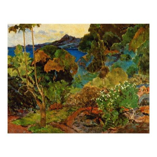 Paul Gauguin's Martinique Landscape (1887) Personalized Flyer