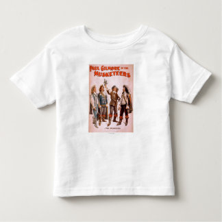 Paul Gilmore in The Musketeers Theatrical Toddler T-Shirt