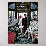 Paul-Gustave Fischer art - Copenhagen Tram Poster