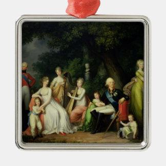 Paul I , Maria Feodorovna  and their Children Christmas Ornament