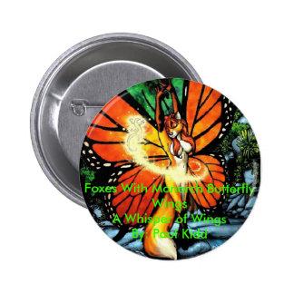 Paul Kidd's A Whisper of Wings 6 Cm Round Badge