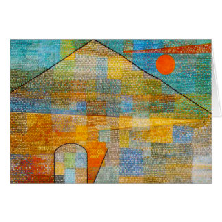 Paul Klee Ad Parnassum Note Card