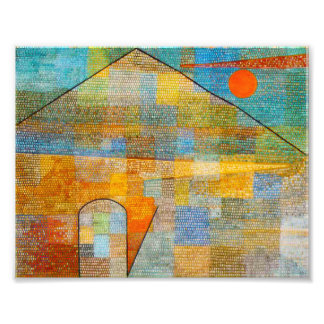 Paul Klee Ad Parnassum Print