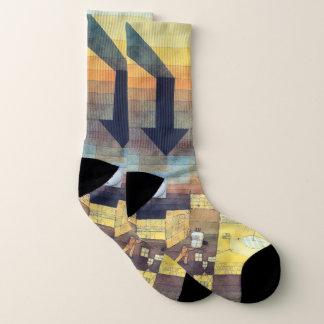 Paul Klee - Affected Place Art Socks