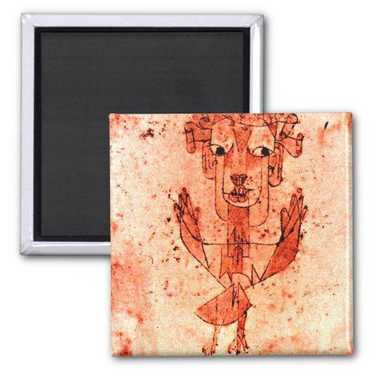 Paul Klee art: Angelus Novus (New Angel) Magnet