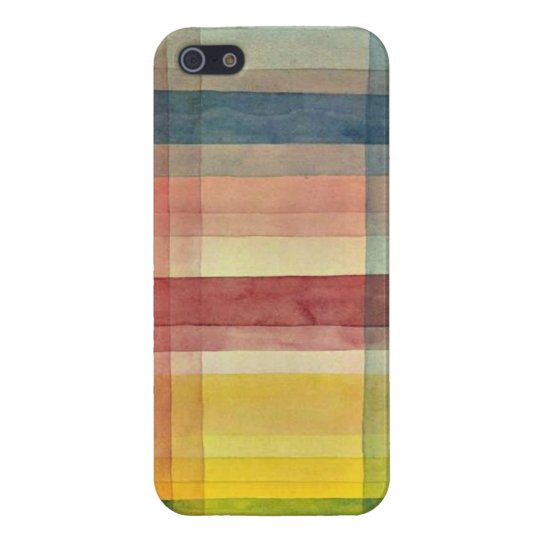 Paul Klee art: Architecture of the Plain iPhone