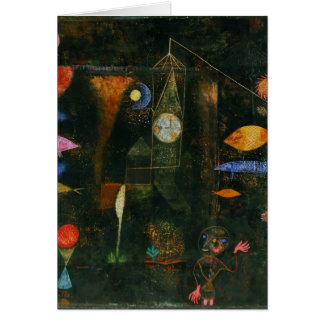 Paul Klee Art Card