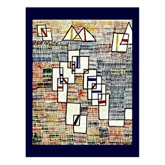 Paul Klee art: Cote de Provence Postcard