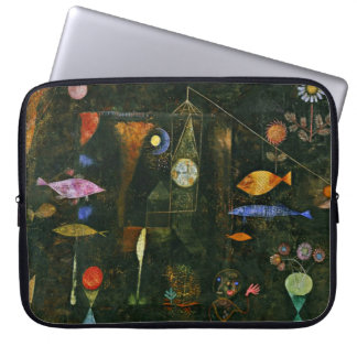 Paul Klee art: Fish Magic, famous Klee painting Laptop Computer Sleeve