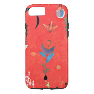 Paul Klee art - Flower Myth, famous Klee painting iPhone 8/7 Case