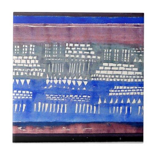 Paul Klee art: Foundations of K Tile