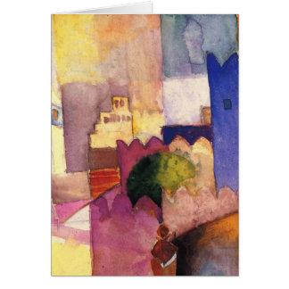 Paul Klee Art Greeting Card
