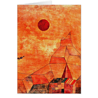 Paul Klee art - Marchen Card