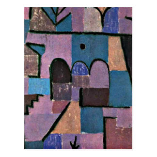 Paul Klee art: Oriental Garden Post Cards