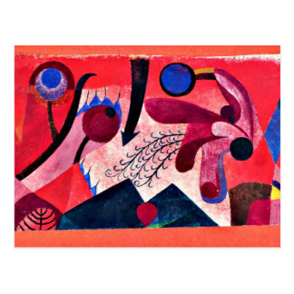 Paul Klee art Poisonous Berries Postcard