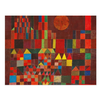 Paul Klee Art Postcard