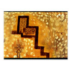 Paul Klee art: The House on High Postcard