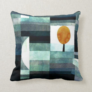 Paul Klee art The Messenger of Autumn Pillows