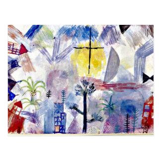 Paul Klee art: Unfinished Landscape Post Cards