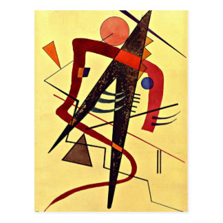 Paul Klee art: Warm Postcard
