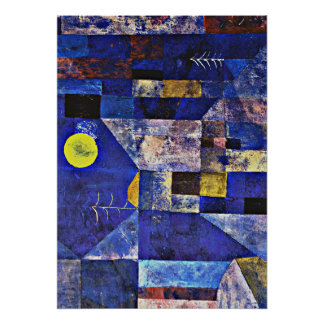 Paul Klee artwork, Moonlight Poster