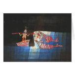 Paul Klee- Battle scene from the comic 'Seafarer' Greeting Card