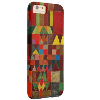 Paul Klee Castle And Sun Abstract Watercolor Art Tough iPhone 6 Plus Case