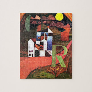 Paul Klee - City of R Jigsaw Puzzles