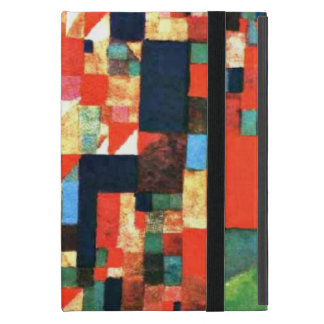 Paul Klee: City Picture with Red and Green Accents Cover For iPad Mini