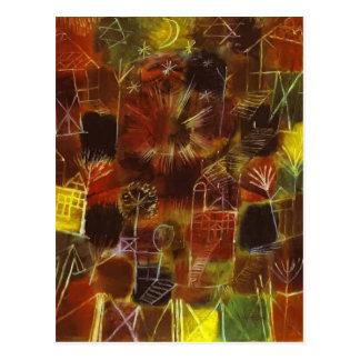 Paul Klee- Cosmic Composition Postcard