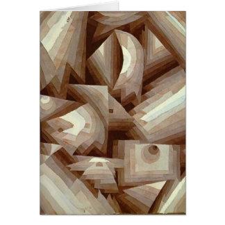 Paul Klee: Crystal Greeting Card