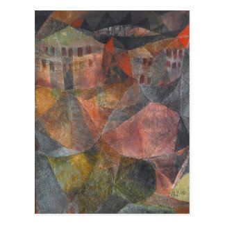 Paul Klee Das Hotel Fine Art Post Card