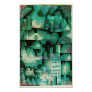 Paul Klee Dream City Poster
