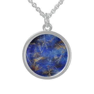 Paul Klee Fairy Tales Round Pendant Necklace