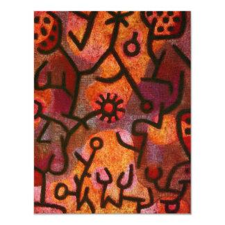 Paul Klee Flora di Roccia Invitations