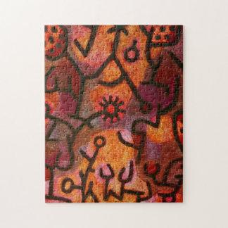 Paul Klee Flora di Roccia Puzzle