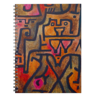 Paul Klee Forest Witch Notebook