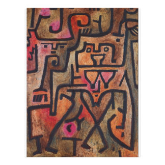 Paul Klee - Forest Witches Flyer Design