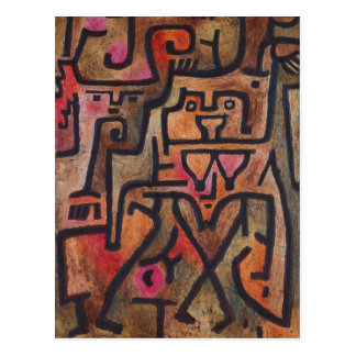 Paul Klee - Forest Witches Postcard