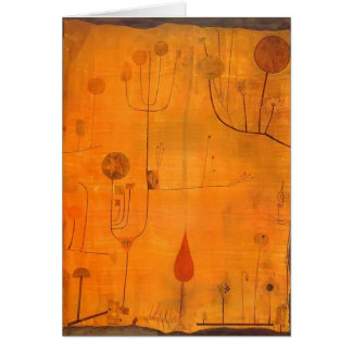Paul Klee: Fruits on Red Greeting Cards