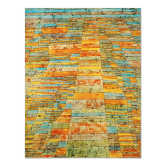 Paul Klee Highways and Byways Invitations