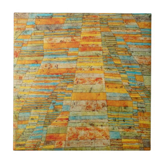 Paul Klee Highways and Byways Tile
