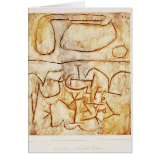 Paul Klee- Historic ground Cards