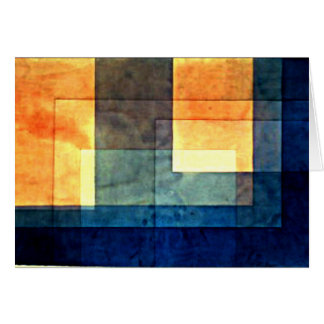Paul Klee, House on the Water Card