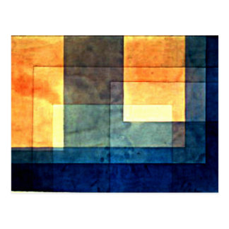 Paul Klee: House on the Water Postcard