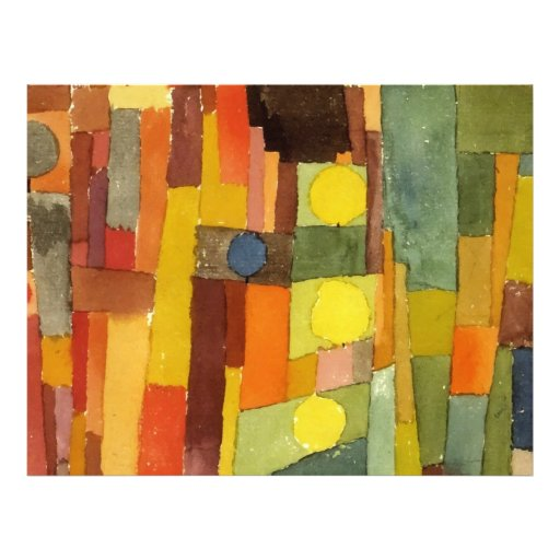 Paul Klee In The Style Of Kairouan Personalized Flyer