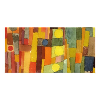Paul Klee In The Style Of Kairouan Customized Photo Card