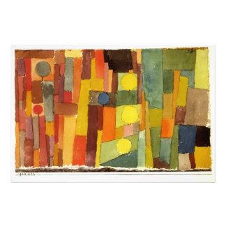 Paul Klee In The Style Of Kairouan Art Photo