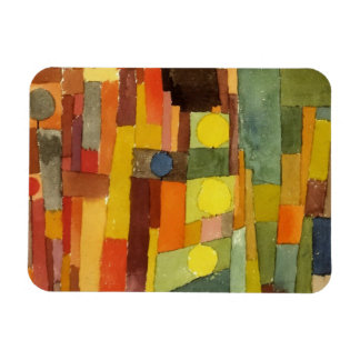Paul Klee In The Style Of Kairouan Watercolor Art Rectangular Photo Magnet